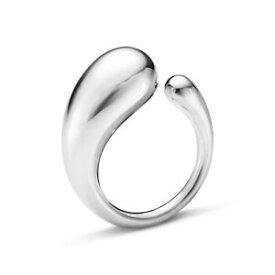 【送料無料】ネックレス シルバーリングサイズ¥genuine silver georg jensen mercy large ring size 56 ref10015120 rrp 185