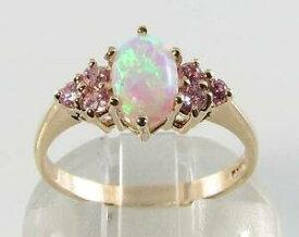 【送料無料】ネックレス kゴールドオパールピンクサファイアアールデコインリングサイズlush 9ct 9k gold aus opal pink sapphire 7 seven stone art deco ins ring size l