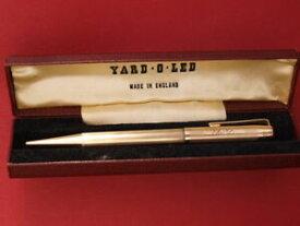 【送料無料】ネックレス シャープペンシル26グラム9ctイェローゴールドyard o led9ct yellow gold yard o led gold propelling pencil 26 grams boxed hallmarked
