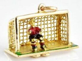 【送料無料】ネックレス ゲオルグジェンセンヴィンテージ9ct フットボールゴールキーパー273gvery rare georg jensen vintage 9ct gold charm football goalie 273g hallmarked