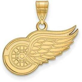 【送料無料】ネックレス logoart14kイェローゴールドnhlデトロイトレッドウィングズミディアムペンダント14k yellow gold nhl detroit red wings medium pendant by logoart