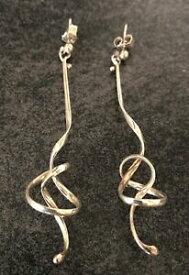 【送料無料】ネックレス ゲオルクイェンセンミーノットイヤリングトルンシルバーgeorg jensen rare forget me knot earrings vivianna torun silver