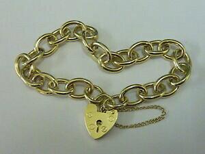 【送料無料】ネックレス ヴィンテージ9ctゴールド7チャームladies lovely vintage 9ct gold 7 charm bracelet