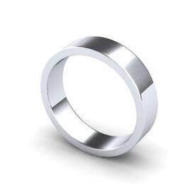 【送料無料】ネックレス パラジウムフラットプロファイルヘビーウェイトpalladium 950 wedding ring flat profile heavy weight