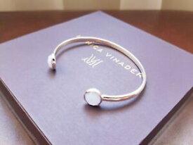 【送料無料】ネックレス モニカvinaderカフスサイレンカフススターリング monica vinader cuff bracelet siren thin cuff sterling silver