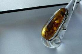 【送料無料】ネックレス スターリングシルバーウイスキースターオレンジリングimpressive 14g 925 sterling silver whisky star spangled amber ring r us 85