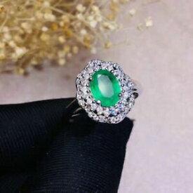 【送料無料】ネックレス コロンビアエメラルドリングスターリングシルバーホワイトcertified natural colombian emerald ring 925 sterling silver white women gifts