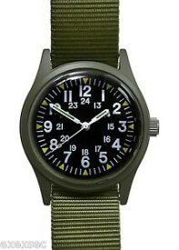 【送料無料】 腕時計 196070sベトナムパターンmilitary industries olive drab 196070s vietnam war pattern military watch