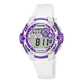 【送料無料】 腕時計 カリプソデジタルホワイトラバーストラップウォッチcalypso watch white digital white rubber strap k56173