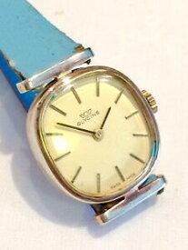【送料無料】 腕時計 ビンテージスイスグリシンレディースマニュアルvintage swiss made glycine ladies manual wind gold plated watch