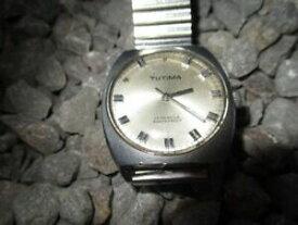 【送料無料】 腕時計 ビンテージtutima vintage manual winding wristwatch 36 mm 60er years 1960s