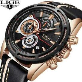 543d0e3de0 【送料無料】 腕時計 メンズトップブランドクオーツカレンダーlige mens wristwatches top brand luxury