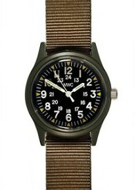 【送料無料】 腕時計 mwc 196070sベトナムパターンオリーブカーキー boxedmwc 196070s vietnam pattern military watch olive khaki boxed