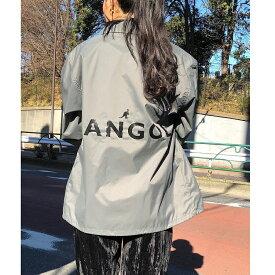 【KANGOL/カンゴール】ナイロンコーチジャケット / OG LOGO JKT レディース メンズ ユニセックス 大人 ブランド かわいい おしゃれ カジュアル ストリート 人気
