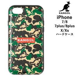 送料無料!ゆうパケット【KANGOL カンゴール】iPhoneケース iphone ケース iPhone7 iPhone8 ハードケース iPhone7Plus iPhone8Plus Plus iPhoneX  iPhoneXsスマホケース ハードカバー ハード カバー アイフォン バッグイン