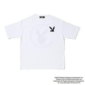 PLAYBOY/プレイボーイ ビッグシルエット/プリント半袖Tシャツ メンズ レディース ユニセックス ブランド おしゃれ 人気 ストリート カジュアル