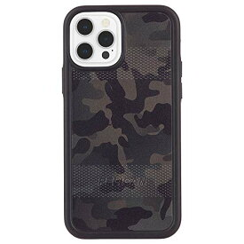 【Pelican by Case-Mate】 抗菌・MIL-STD-810G ミリタリーグレード 4.5m 落下耐衝撃ハイブリッドケース ペリカン Protector - Camo Green/w Micropel for iPhone 12 Pro Max PP043490