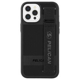 【Pelican by Case-Mate】 抗菌・MIL-STD-810G ミリタリーグレード 4.5m 落下耐衝撃ハイブリッドケース ペリカン Protector Sling - Black/w Micropel for iPhone 12 Pro Max PP043494