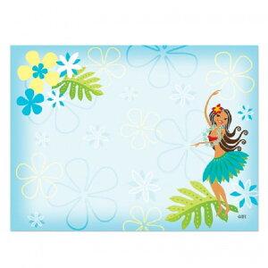 ハワイアン雑貨 付箋 ふせん ポストイット 文具 メモ帳 ステーショナリー アイランドヘリテイジ Island Heritage(フラ スウィーティー)7.5×10cm 50枚 メール便対応可 ハワイアン 雑貨ハワイ ハワ