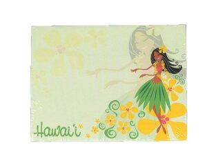 ハワイアン雑貨 付箋 ふせん ポストイット 文具 メモ帳 ステーショナリー アイランドヘリテイジ Island Heritage(ラブリーフラハンズ)7.5×10cm 50枚 メール便対応可 ハワイアン 雑貨ハワイ ハワ