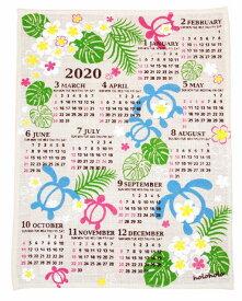 【送料無料】ハワイアン雑貨 ハワイアン 2020年 ジュートカレンダー (ホヌランド) ハワイアン 雑貨 カレンダー2020 壁掛け おしゃれ 壁掛けカレンダー ポスター ハワイアン雑貨 インテリア雑貨 ハワイアン 雑貨 インテリア ハワイ お土産 メール便対応可