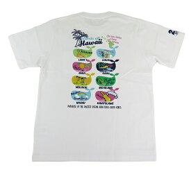 SALE メンズ 半袖 Tシャツ ハワイアン雑貨 ハワイアン 雑貨 ALOHA MADE アロハメイド(メンズ ホワイト)212MA1ST126 フララニ メール便対応可 サーフブランド ハワイアン 雑貨 ハワイ ハワイアン