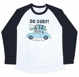 SALE ハワイアン雑貨 ハワイアン 雑貨 SURF'S UP サーフズアップ メンズ 長袖 Tシャツ ラグランTシャツ(メンズ/D.ネイビー) 194SU1LT085メール便対応可 ハワイアン雑貨 メンズ 長袖 Tシャツ ハワイアン 雑貨 ハワイ サーフブランド