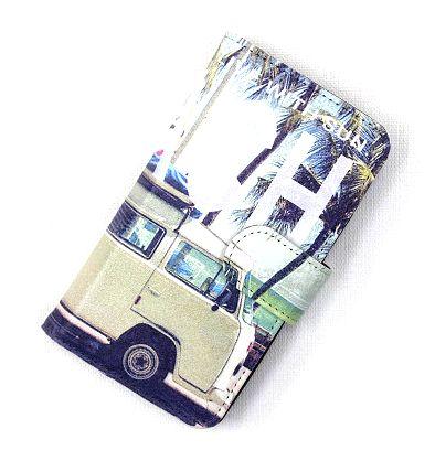ハワイアン雑貨/汎用スマホケース 多機種対応 手帳型 スマホケース (Mサイズ) (サーフワーゲンバス) ハワイアン 雑貨/ハワイ雑貨ハワイ お土産 ハワイアン インテリア