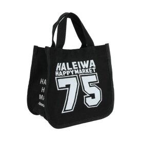 ハワイアン トートバッグ ハワイアン雑貨 ハレイワ HALEIWA ノースショア75 ミニトートバッグ(ブラック) HLBG-1959BK ハワイアン雑貨 サーフブランド ハワイアン 雑貨 ハワイアン ハレイワ ハッピーマーケット