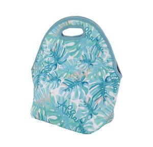 ハワイアン 防水 トートバッグ ランチバッグ ネオプレン バッグ(モンステラ) ウェットスーツ素材ハワイアン雑貨 アメリカン雑貨 ハワイ ランチ ハワイアン 雑貨