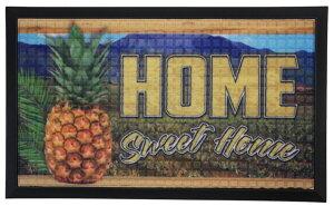ハワイアン雑貨 インテリア ハワイアン 雑貨 KC HAWAII トロピカルドアマット(パイナップル) 玄関マット HOME ハワイアン雑貨ハワイ お土産 ハワイアン インテリア