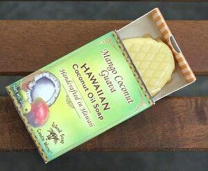 ハワイ お土産 ハワイアン雑貨 アイランドソープ&ワークス ココナッツ ソープ 石鹸(マンゴーココナッツ)ハワイ お土産 ハワイアン 雑貨