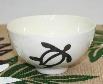 ハワイアン雑貨/インテリア/ハワイアン 雑貨 GreenHawaii ☆ お茶碗/ごはん茶碗(ホヌ) ハワイアン雑貨 ハワイ お土産 ハワイアン インテリア