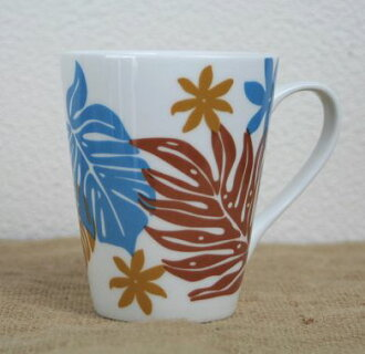 Hawaiian accessories / Interior / Hawaiian accessories Hawaiian mug (LisaLisa) / Monstera tiare (ENJ) Hawaiian sundries Hawaiian sundries Hawaii souvenir gift 10P19Dec15