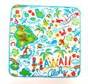 ハワイアン雑貨/ハワイアン 雑貨【フララニ】ハワイアン ハンカチ ハンドタオル(ハワイアン)メール便対応可 ハワイ お…