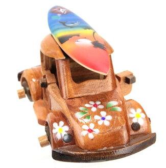 夏威夷的貨物 / 夏威夷配件 / 室內木車 (顏色 A) 夏威夷雜物夏威夷雜物夏威夷紀念品禮品 10P05Dec15