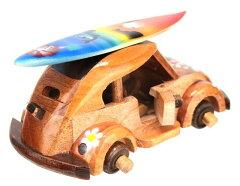 ハワイアン雑貨/木製ワーゲン/車