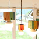 hom colorcubu 木製 ペンダントライト 4畳 子供部屋