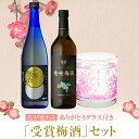 【家飲み】受賞の梅酒セット 竜峡梅酒 上等梅酒 色が変わるグラス付セット [ 本坊酒造 / 母の日 ギフト 贈り物 梅酒 …