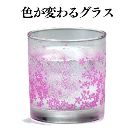 色が変わるグラス