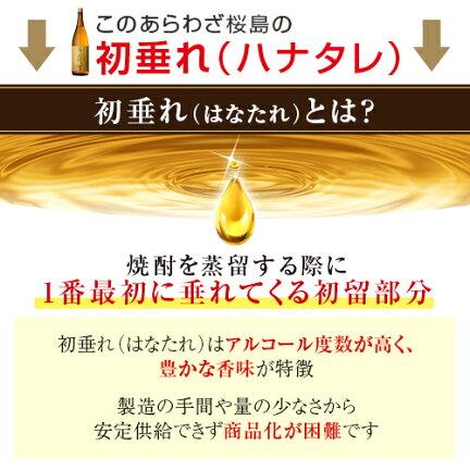 ハナタレとは焼酎の蒸留で一番最初に垂れてくる初留部分