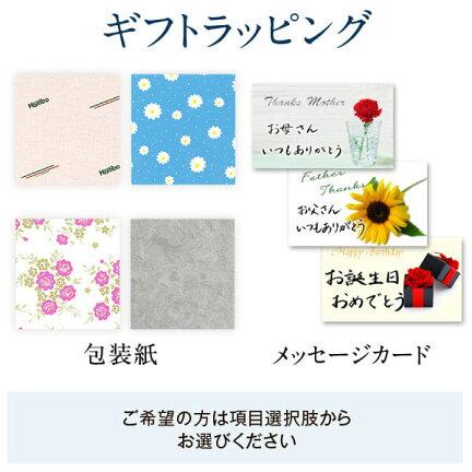 ギフトラッピング包装紙メッセージカード
