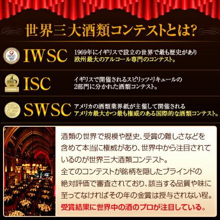 世界三大酒類コンテストIWSCISCSWSC