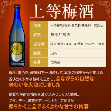 上等梅酒の商品情報