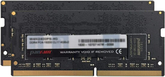 CFD Panram W4N2400PS-8G SODIMM DDR4 PC4-19200 8GB 2枚組