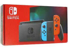 【新品訳あり(箱きず・やぶれ)】 任天堂 Nintendo Switch 新モデル HAD-S-KABAA ネオンブルー・ネオンレッド