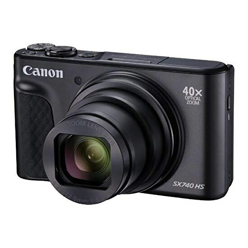 Canon製 PowerShot SX740 HS ブラック 2030万画素
