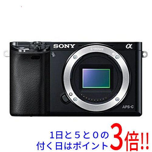 【中古】SONY α6000 ボディ ILCE-6000/B ワケあり 未使用