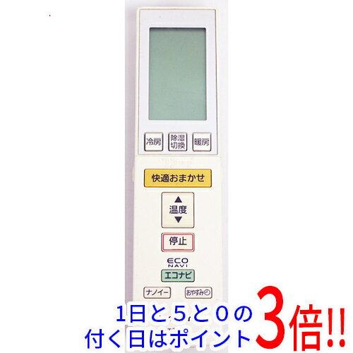 【中古】Panasonic エアコンリモコン A75C3586
