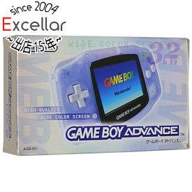 【中古】任天堂 ゲームボーイアドバンス ミルキーブルー 元箱あり